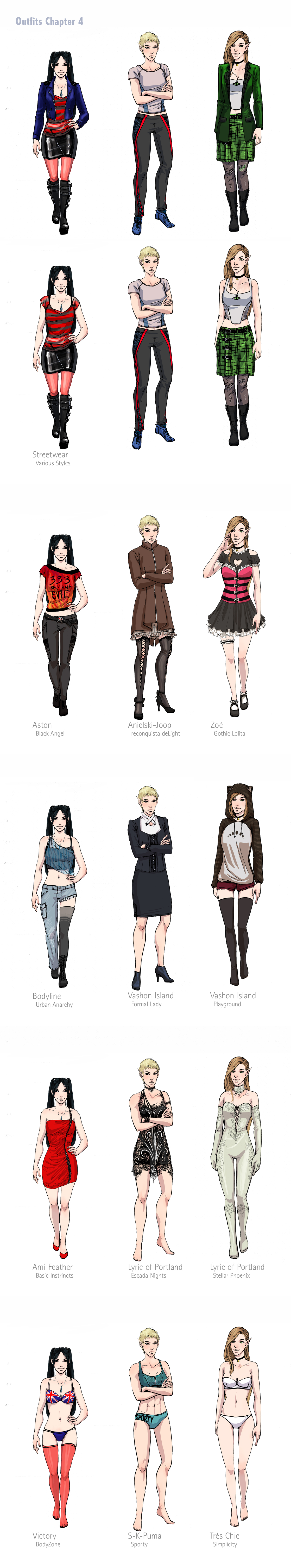 Shadowrun Fashion Labels